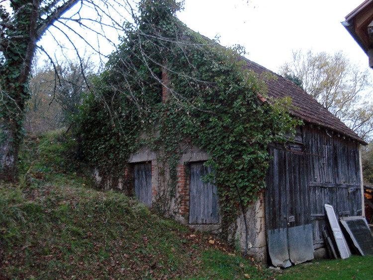 wood barn before