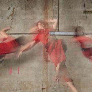 enseignant laboratoire créatif : danse verticale et aérienne avec harnais